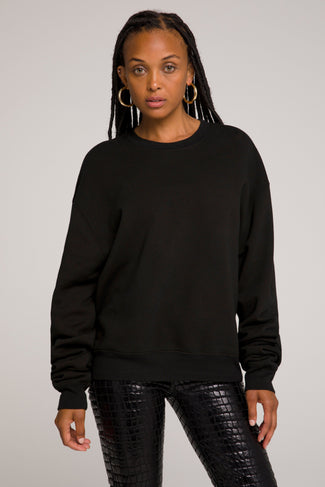 BOYFRIEND SWEATSHIRT | BLACK001