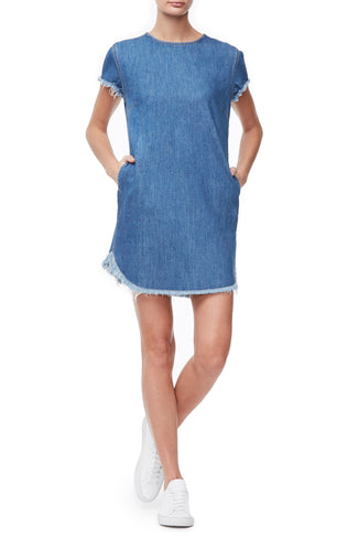 THE T-SHIRT DRESS | BLUE230