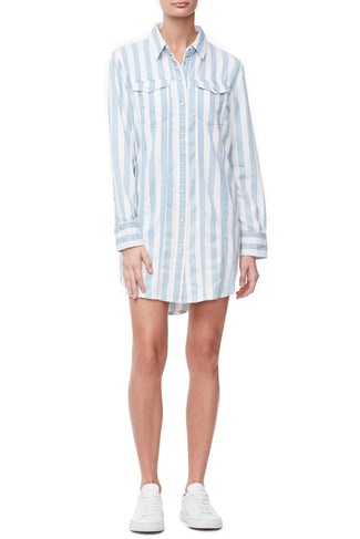 THE SHIRT DRESS | STRIPE002