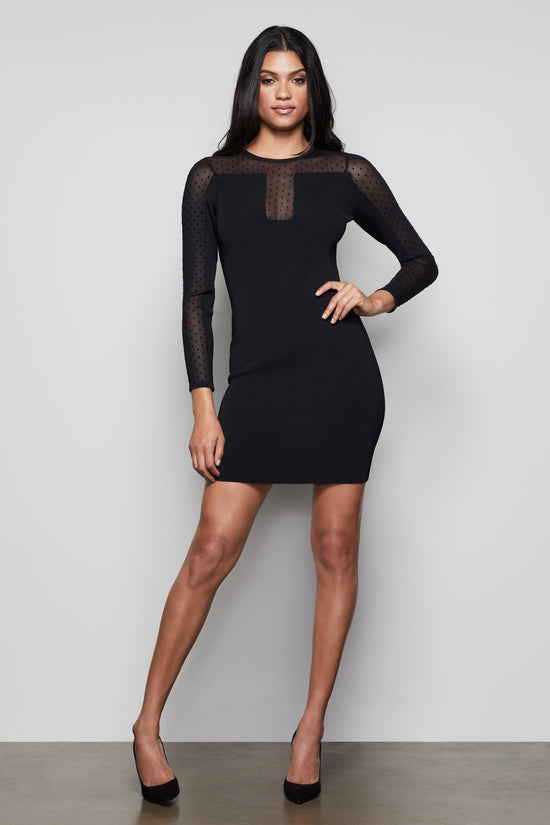 THE STARE DOWN DRESS | BLACK001