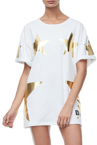 GOODIES SUPER STAR TEE | GOLD001