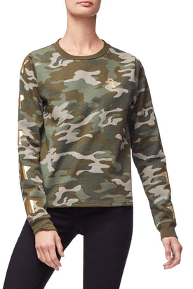 GOODIES CAMO AND STARS CREW | CAMO001