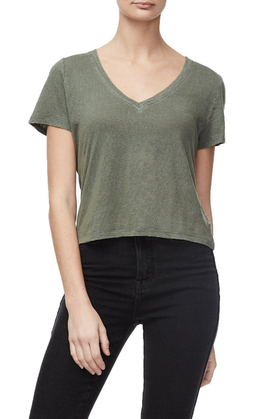 THE WORN-IN TEE | OLIVE002