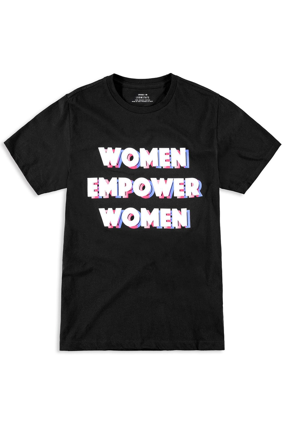 THE EMPOWER WOMEN TEE | BLACK001