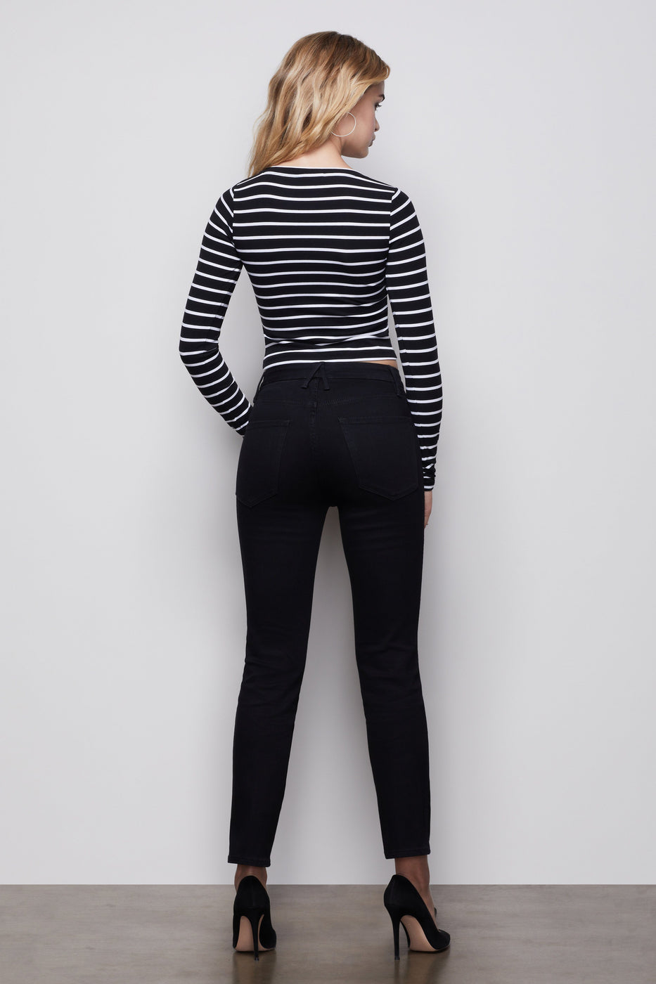 THE SO CLASSIC CREW NECK TOP | STRIPE001
