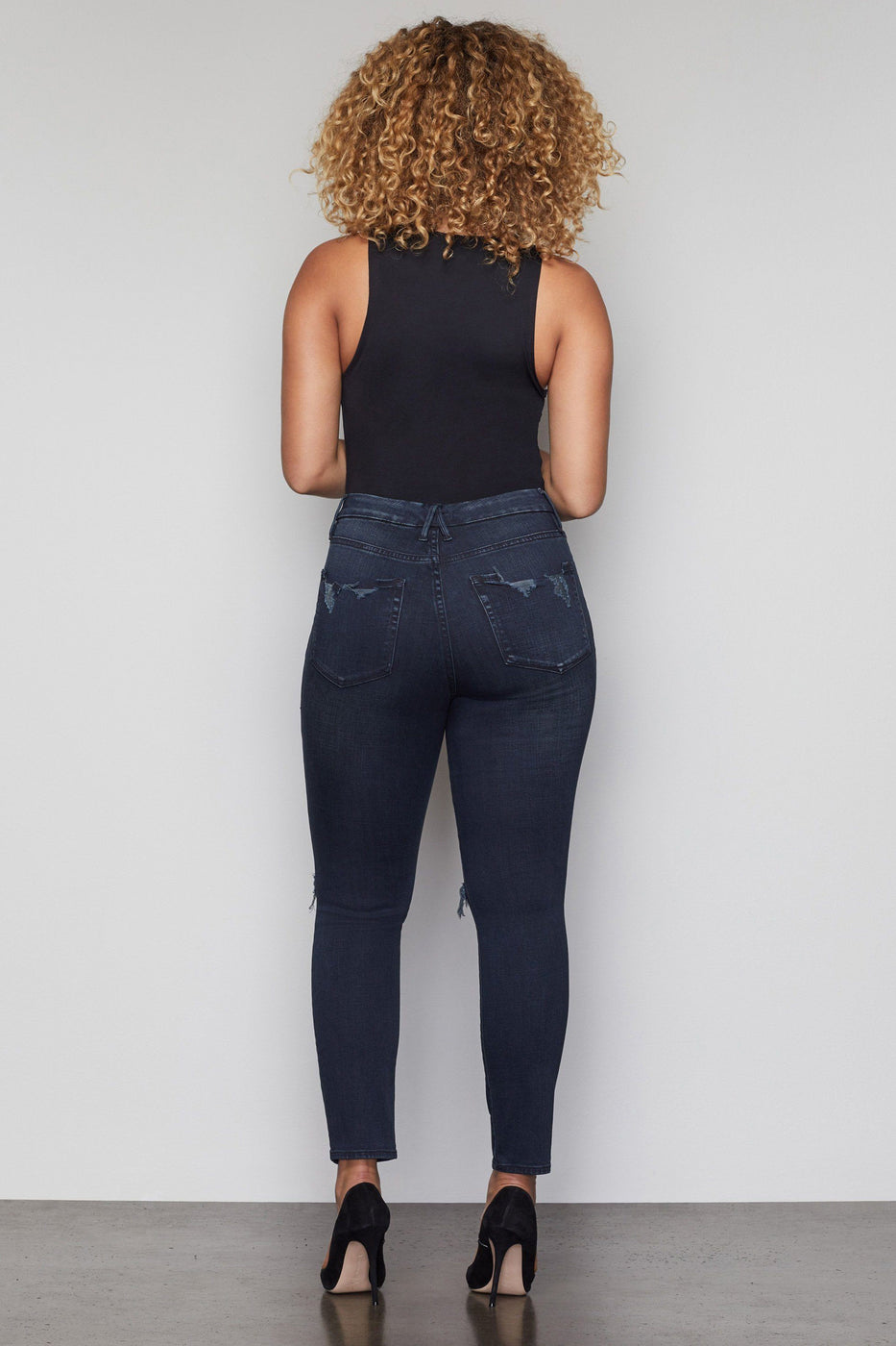 GOOD WAIST CROP | BLUE321