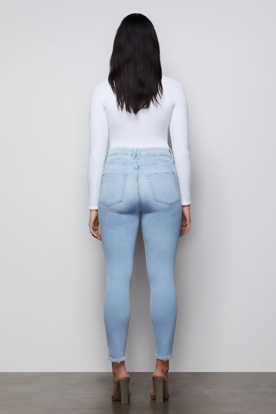 GOOD WAIST CROP | BLUE397