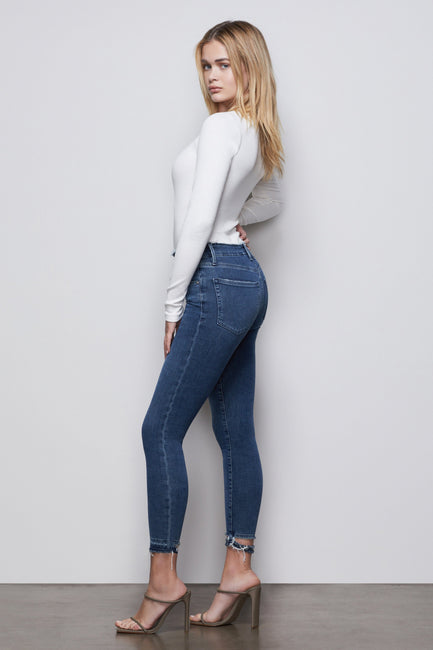 GOOD WAIST CROP | BLUE392