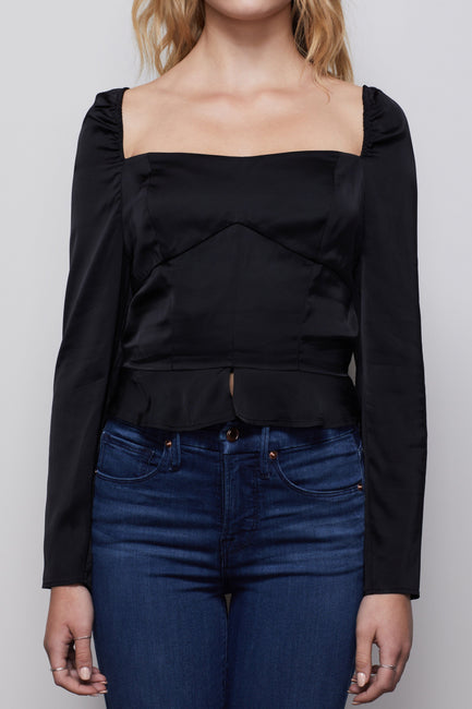 THE TOO TEMPTED CORSET TOP | BLACK001