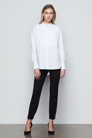 THE COCKTAIL TUX SHIRT | WHITE001