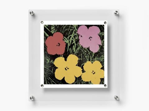 Wexel Art BeSquare 14x14 wall frame - gold