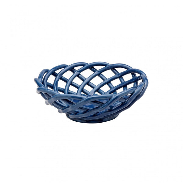 Round Ceramic Medium Basket