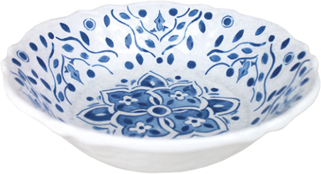 Moroccan Blue Cereal Bowl