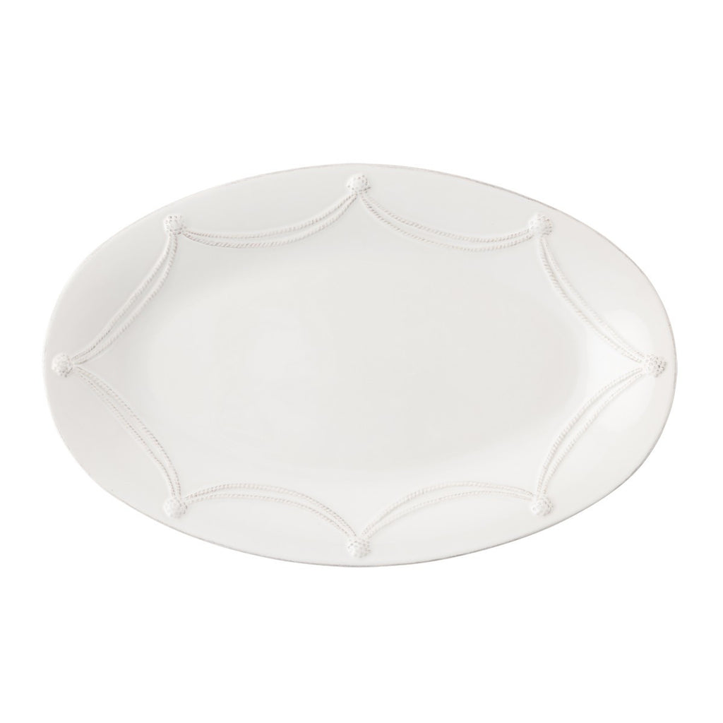 Juliska B&T Whitewash Oval Platter