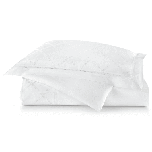 Peacock Alley Cadence Duvet White -King