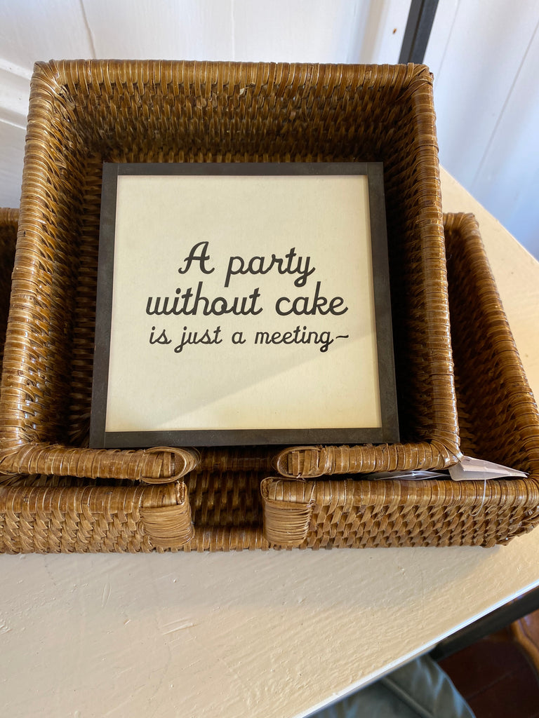 A Party Without Cake Coasters S/4