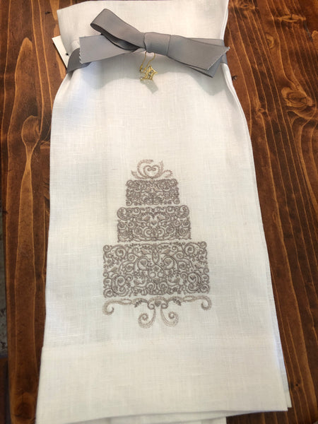 Celebration Cake Linen Towel
