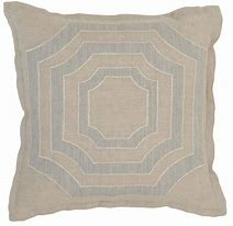 Miller Natrual/Gray Pillow Cover