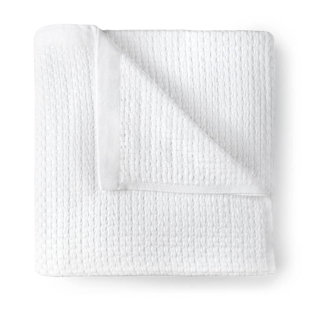 Peacock Alley Maribelle Throw (White)
