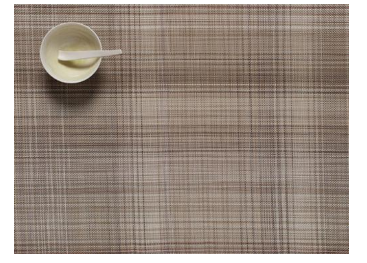 Chilewich Plaid Placemat, Tan