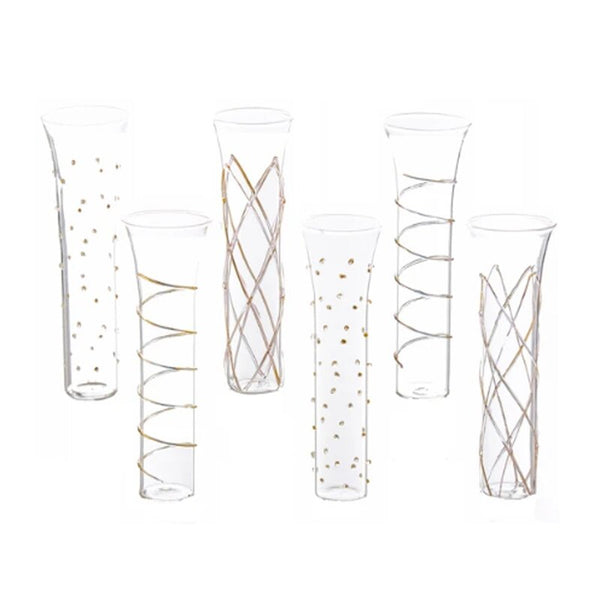 Assorted Champagne Flutes