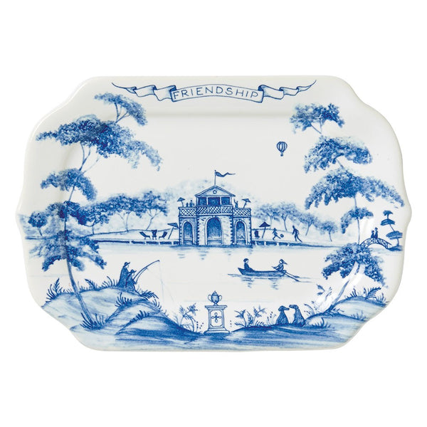 Juliska Friendship Tray, Delft