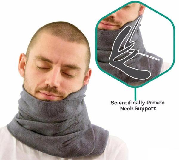 NAPSCARF™ - Neck Support Travel Pillow