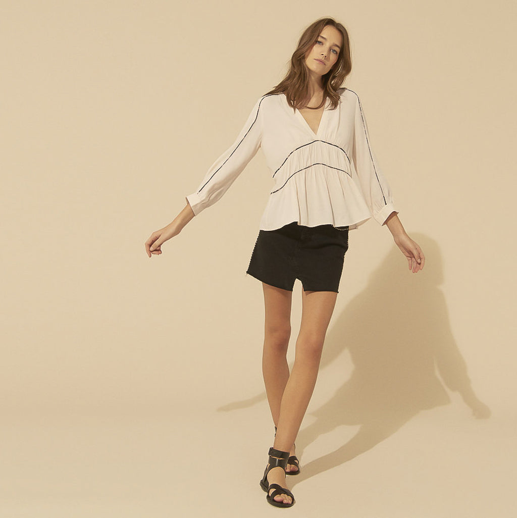 BA&SH, TOP, BA&SH | Faro Shirt - Edgar Martha's Vineyard