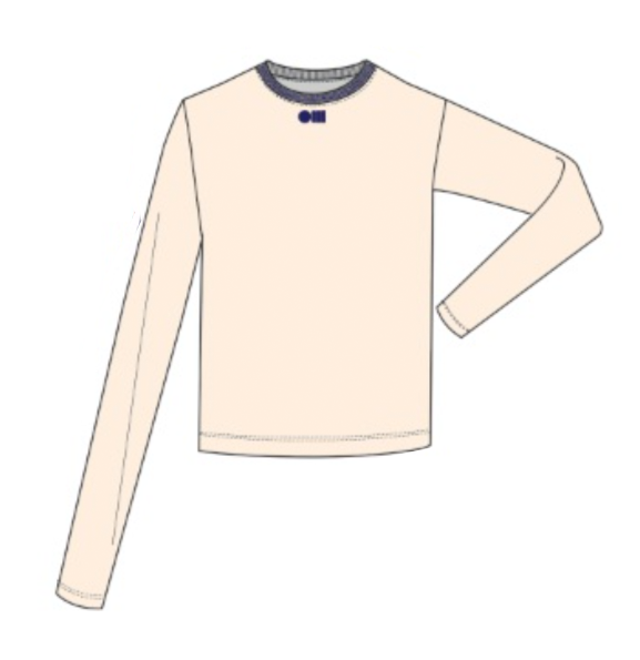 SOLID & STRIPED, TOP, SOLID & STRIPED | Long Sleeve T-Shirt - Edgar Martha's Vineyard