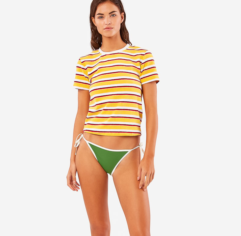 SOLID & STRIPED, TOP, SOLID & STRIPED | T-shirt Tweety Terry - Edgar Martha's Vineyard