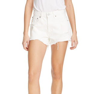 MOUSSY, DENIM, MOUSSY | Montclair Shorts White 2340 - Edgar Martha's Vineyard