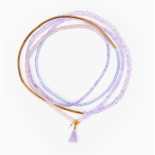 SHASHI, JEWELRY, SHASHI | Jane Stretch Lilac - Edgar Martha's Vineyard