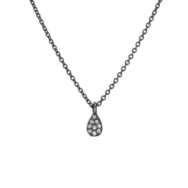 ASHLEY SCHENKEIN, JEWELRY, ASHLEY SCHENKEIN| Brooklyn Mini Teardrop Necklace - Edgar Martha's Vineyard