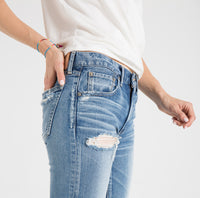MOUSSY, DENIM, MOUSSY VINTAGE | Kelley Tapered 2520 - Edgar Martha's Vineyard