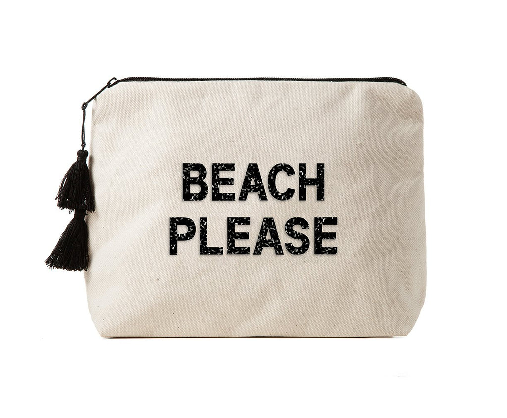 FALLON & ROYCE, ACCESSORY, FALLON & ROYCE | Beach Please Bikini Bag - Edgar Martha's Vineyard