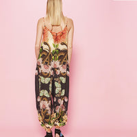 CAROLINA K, JUMPSUIT, CAROLINA K | Snake Butterflies + Flowers Jumpsuit - Edgar Martha's Vineyard