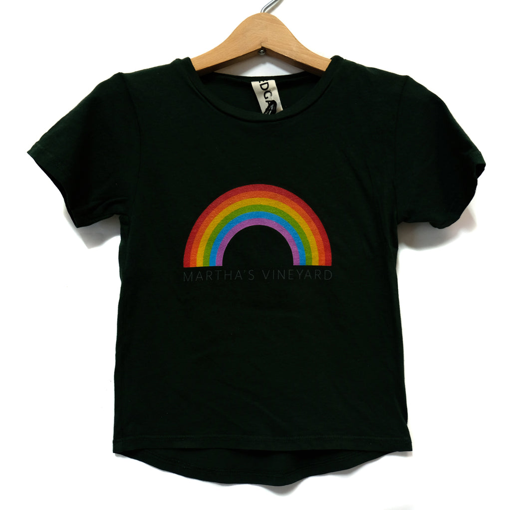 EDGAR mv, KIDS, EDGARmv | Organic Cotton Kids T-Shirt RAINBOW - Edgar Martha's Vineyard