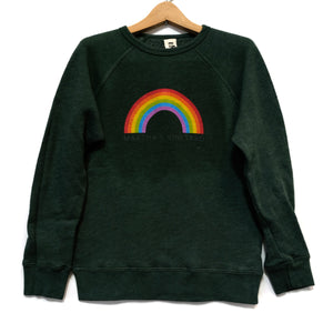 EDGAR mv, KIDS, EDGARmv | Organic Cotton Kids Rainbow MV logo Sweatshirt - Edgar Martha's Vineyard