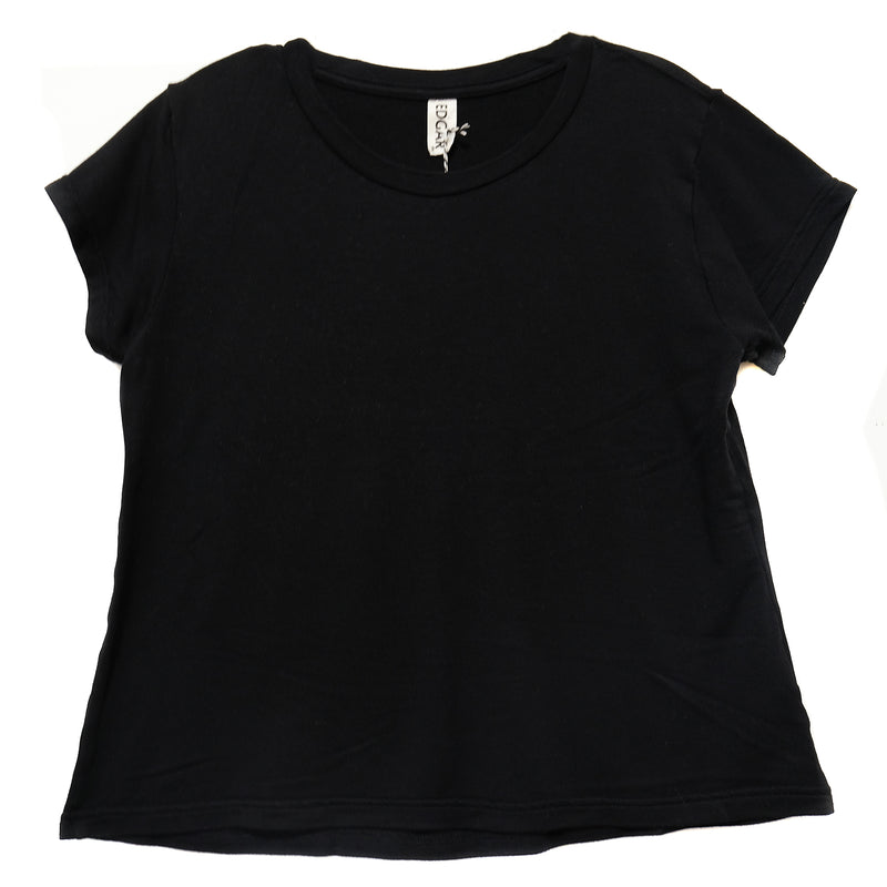 EDGAR mv, TOP, EDGARmv | BFF Tee Cotton Sweater Knit - Edgar Martha's Vineyard
