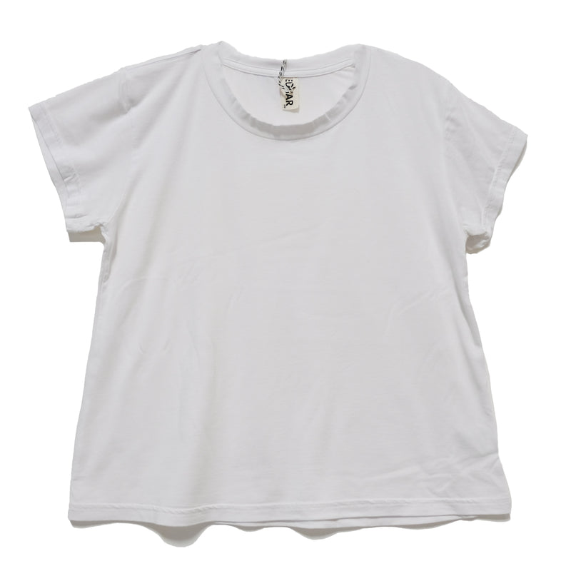 EDGAR mv, TOP, EDGARmv | BFF Tee White Cotton - Edgar Martha's Vineyard