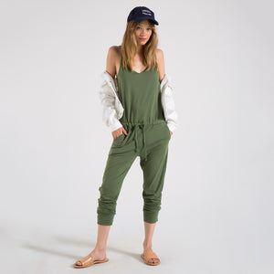 EDGAR mv, BOTTOMS, EDGARmv | Organic Cotton Adjustable String Strap Jumper - Edgar Martha's Vineyard