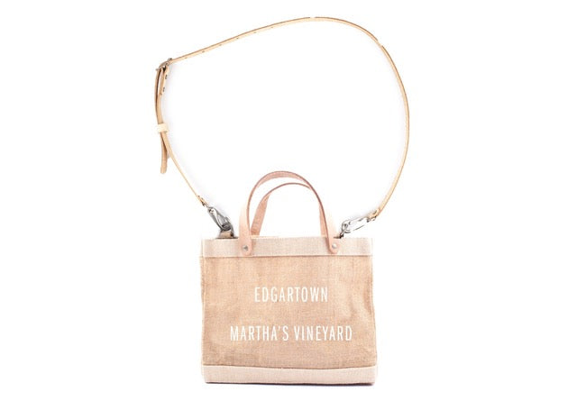 APOLIS, ACCESSORIES, APOLIS | Edgartown Detachable Handle Lunch Tote by Apolis and EDGARmv - Edgar Martha's Vineyard
