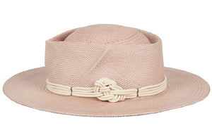GLADYS TAMEZ MILLINERY, ACCESSORIES, GTM | Harlow Straw Hat - Edgar Martha's Vineyard