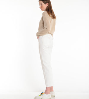 NAADAM, TOP, NAADAM |Hand Brushed Cashmere Mock Turtleneck - Edgar Martha's Vineyard