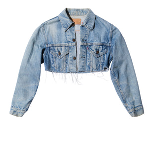 LEVI'S, JACKET, EDGARmv | Vintage Levi's Cropped Denim Jacket - Edgar Martha's Vineyard