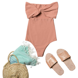 MIKOH, SWIM, MIKOH | Lana Strapless One Piece - Edgar Martha's Vineyard