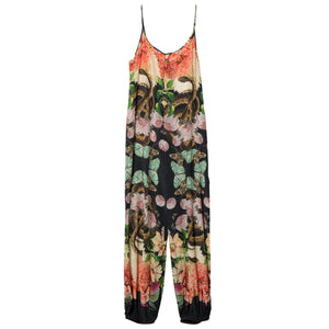 CAROLINA K, BOTTOMS, CAROLINA K | Snake Butterflies + Flowers Jumpsuit - Edgar Martha's Vineyard