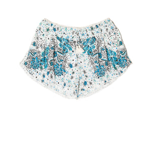 POUPETTE ST BARTH, BOTTOMS, POUPETTE ST BARTH | Boxer Short Bamboo Lace Trimmed - Edgar Martha's Vineyard