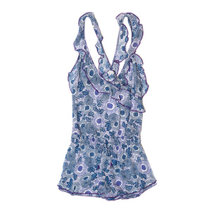POUPETTE ST BARTH, BOTTOMS, POUPETTE ST BARTH | Short Jumpsuit Yoana Ruffled - Edgar Martha's Vineyard