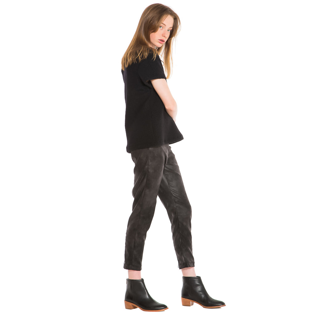 EDGAR mv, TOP, EDGARmv| BFF Tee Black Sherpa - Edgar Martha's Vineyard